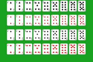 main cards in solitare
